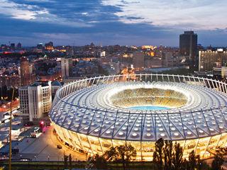 Umbau Olympiastadion Kiew, 2011 Conceptlicht GmbH Moderne Stadien