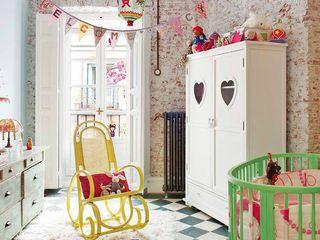 Simetrika - Reformas Integrales en Madrid Dormitorios infantiles de estilo ecléctico