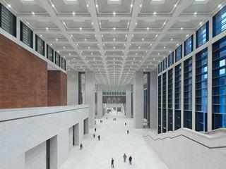 Nationalmuseum China, Neubau, 2011 Conceptlicht GmbH Moderne Museen