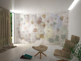 A' LA CARTE collection wallpaper on demand B+P architetti SoggiornoAccessori & Decorazioni