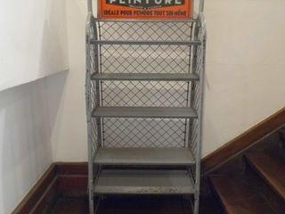 Vintage Industrial Rack Travers Antiques Living roomStorage
