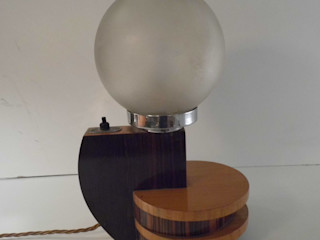 Art Deco lamp Travers Antiques Living roomLighting