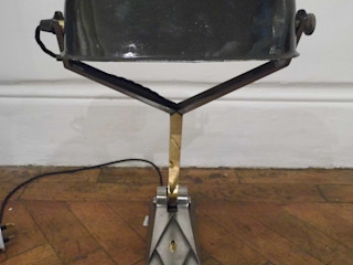 Art Deco Bankers Lamp Travers Antiques Living roomLighting