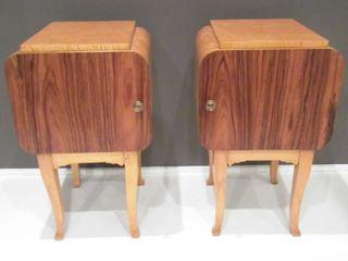 Art Deco Bedside Cabinets Travers Antiques BedroomBedside tables