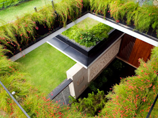 Meera House Guz Architects Jardines de estilo moderno