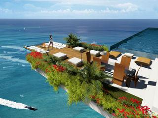 ULUWATU HOUSE Guz Architects Balcones, porches y terrazas