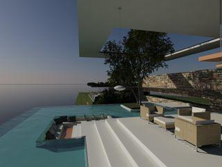 ULUWATU HOUSE Guz Architects Balcones, porches y terrazasAccesorios y decoración