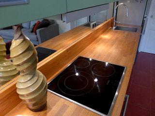 SUR LES HAUTEURS DU PERE LACHAISE EC Architecture Intérieure Cuisine moderne