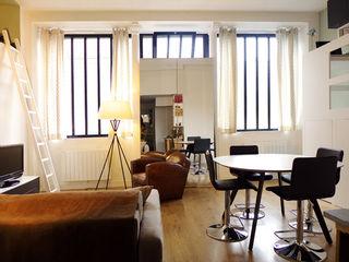 UN LOFT A PARIS EC Architecture Intérieure Salon classique