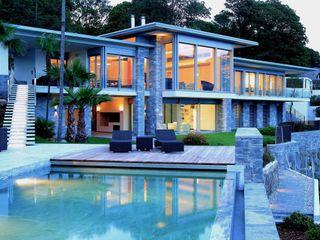 Aldo Rampazzi Studio di Architettura Balcones y terrazas de estilo moderno