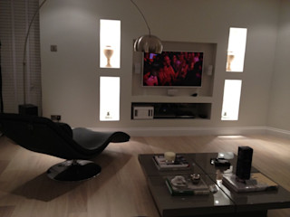 SOHO HOUSE Esra Kazmirci Mimarlik Living roomAccessories & decoration