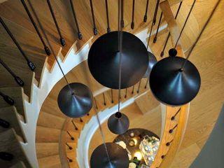 GGS HOUSE Esra Kazmirci Mimarlik Corridor, hallway & stairsLighting