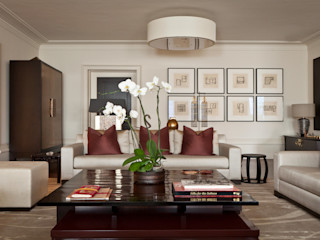 Modern Living Room with the Asian Touch Rosangela Photography Ruang Keluarga Modern
