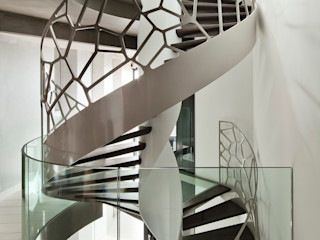 TransParancy by EeStairs® - Glass balustrades EeStairs | Stairs and balustrades Corridor, hallway & stairsStairs