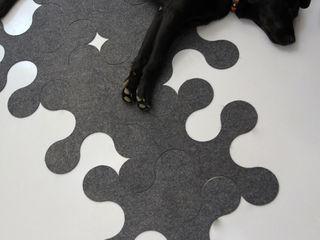 Molécule Carpet by Nathalie and Cyril Daniel La Corbeille Éditions 거실액세서리 & 장식