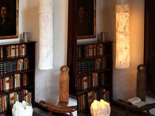 Uovo Table and Floor Lamp in felt Judith Byberg CasaAccessori & Decorazioni