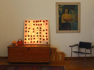 Apsìs Wall Lamp in nunofelt Judith Byberg CasaAccessori & Decorazioni