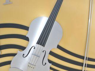 Stainless Steel Music Gate Edelstahl Atelier Crouse: 庭院