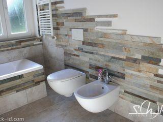 Shock-Id Rustic style bathroom