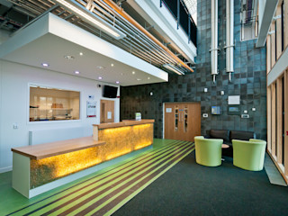 Think Low Carbon Centre Jefferson Sheard Architects Negozi & Locali commerciali
