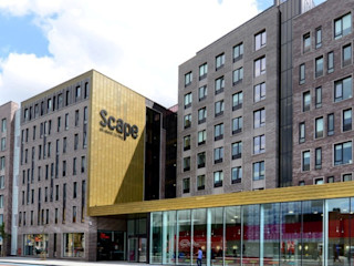 Scape East, Mile End Road Jefferson Sheard Architects Case moderne