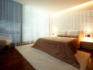 Augusta House Risco Singular - Arquitectura Lda Quartos minimalistas