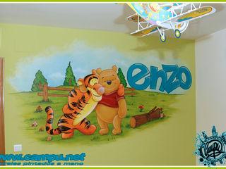 CAMPU.NET Modern nursery/kids room