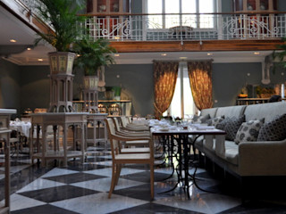Larforma 餐廳椅子與長凳