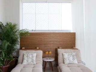 APARTAMENTO MOFARREJ Decorare Studio de Arquitetura Varandas, alpendres e terraços modernos