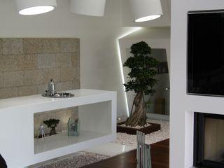 RS Design House Risco Singular - Arquitectura Lda Casas minimalistas