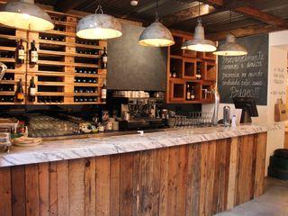 Restaurante - O Prego da Peixaria 4+Arquitectos Lda Gastronomía de estilo moderno