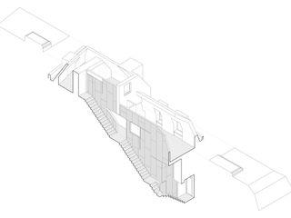 Cascade House Patalab Architecture Casas de estilo moderno