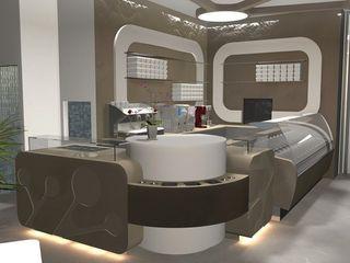 Masi Interior Design di Masiero Matteo Centros comerciales de estilo ecléctico