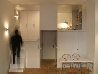 Beriot, Bernardini arquitectos Sala da pranzo minimalista