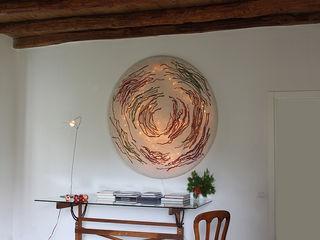 Spira Ceiling Lamp in nunofelt Judith Byberg CasaAccessori & Decorazioni