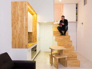 Beriot, Bernardini arquitectos Cucina minimalista