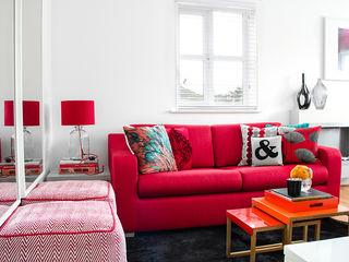South London Apartment Bhavin Taylor Design Ruang Keluarga Modern