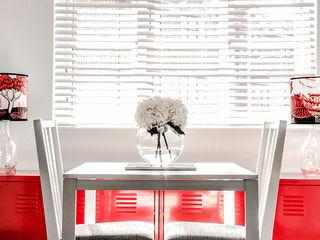 South London Apartment Bhavin Taylor Design Ruang Makan Modern