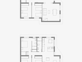 NUÑO ARQUITECTURA Modern Houses White