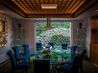 Urban Landscape Eclectic style dining room