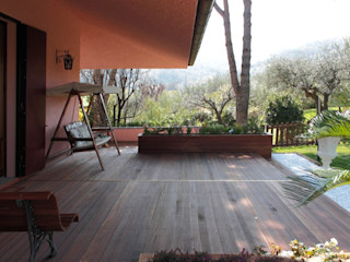 Sistemazioni esterne villa. Albini Architettura Giardino rurale