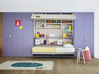 NIDI MOOVING : idee salvaspazio ROOM#1 Nidi Stanza dei bambiniScrivanie & Sedie