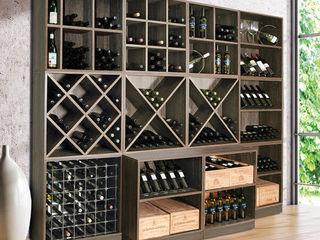 Weinregal-Profi Modern wine cellar