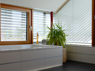 Einfamilienaus in Buch am Erlbach Herzog-Architektur Moderne Badezimmer