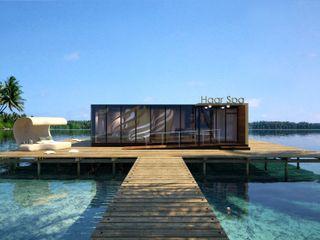 Perspectivas 3D – Haar Spa Realistic-design Spa modernos