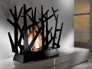 ELEMENTO 3 DISEÑO SA DE CV Living roomFireplaces & accessories