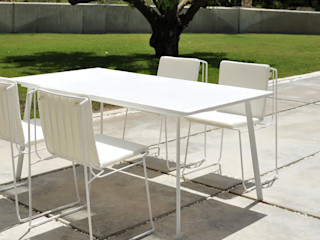 ELEMENTO 3 DISEÑO SA DE CV Balconies, verandas & terraces Furniture