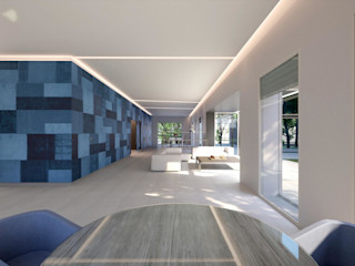 Perspectivas 3D - Comedores Realistic-design Comedores de estilo moderno
