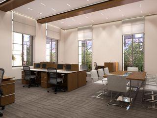 Perspectivas 3D - Oficinas Realistic-design Oficinas y tiendas