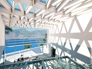 Perspectivas 3D - Pasillos y escaleras Realistic-design Pasillos, vestíbulos y escaleras
